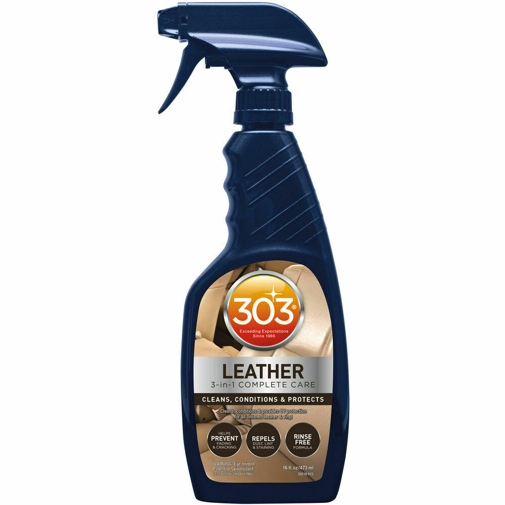 303 Leather 3-IN-1 Complete Care 473ml - cleans, conditions and UV protection